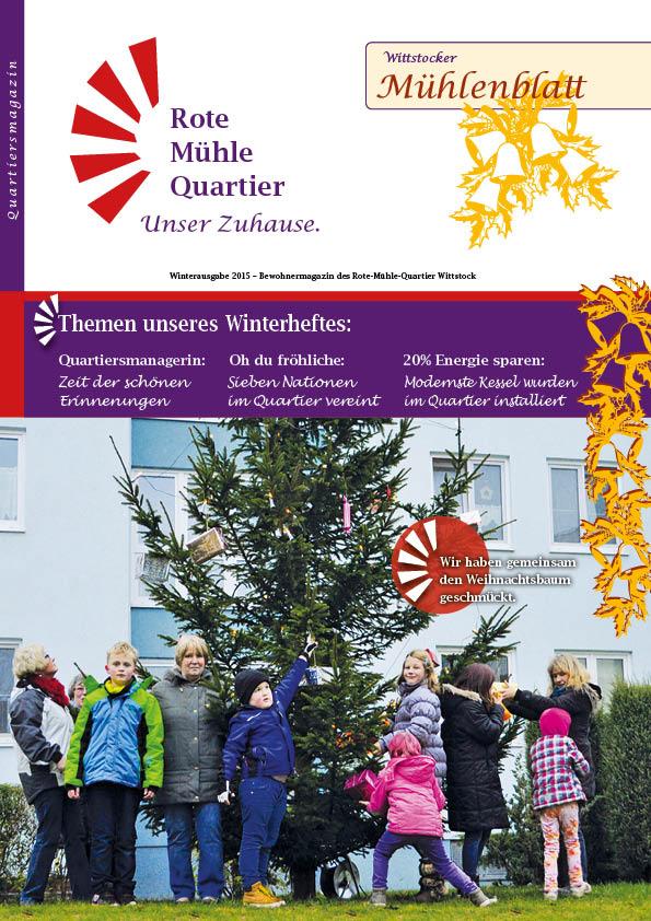 Winterausgabe 2015 – Bewohnermagazin des Rote-Mühle-Quartier Wittstock