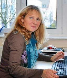 Immer für die Mieter erreichbar: Quartiersmanagerin Rosela Bennarndt