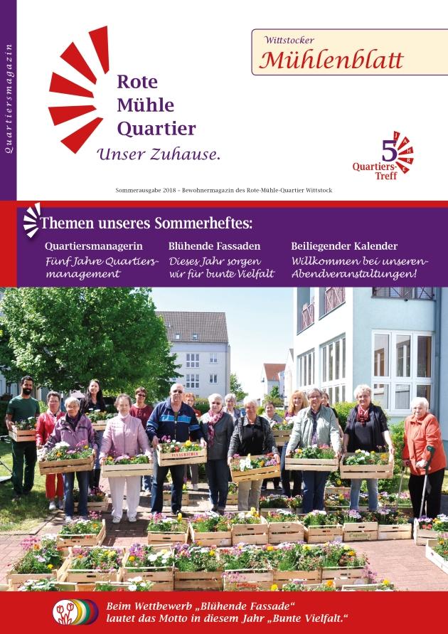 Titel des Mühlenblatt Sommer 2018