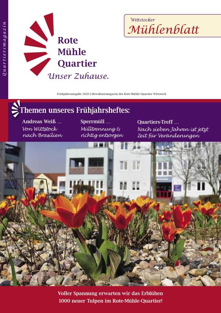 Mühlenblatt 2020 Frühjahrsausgabe